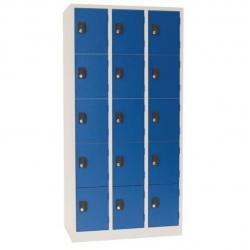 Armoire vestiaire 25 casiers sur socle A106679 NEUF