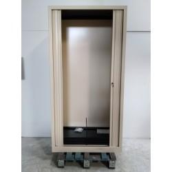 VINCO - Armoire métal à rideaux largeur 100 cm