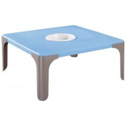 WESCO 325002 - Table d'activité carrée Lou hauteur 46cm