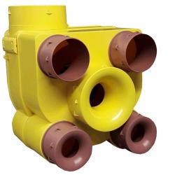 Caisson VMC EQUATION simple flux autoréglable - 80130621- NEUF