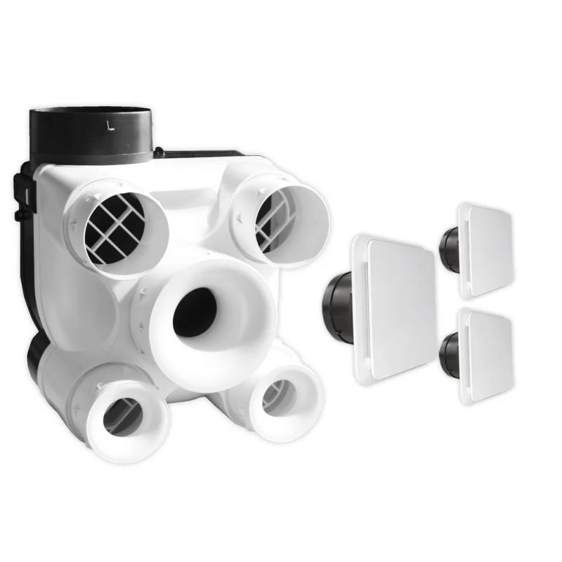 S&P DESIGN3 80127696 - Kit VMC simple flux autoréglable
