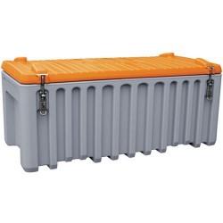 CEMO 10332 - Box chantier - Caisse de transport 250 Litres Cembox en polyéthylène