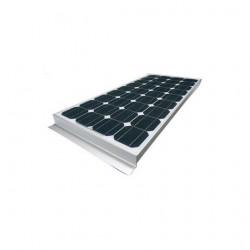 VECHLINE 15935611 - Kit panneau photovoltaïque 100W pour camping car
