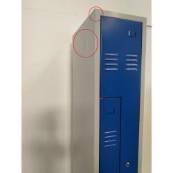GURKAN WRZ2.1830 - Vestiaire 2 portes L 180x30x50cm
