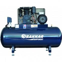 DRAKKAR FF035310200 - Compresseur d'air 270 litres