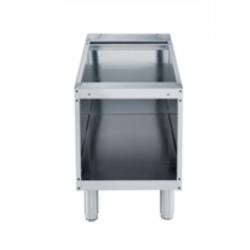 9PDX371112 - Meuble bas inox 400x550x600mm pour cuisine professionnelle