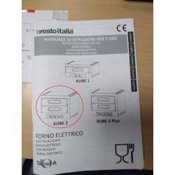 RESTOITALIA 7020121002 - Four à pizza électrique professionnel 4pizzas
