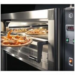 CUPPONE GS633/1D - Four à pizza à gaz 6 pizzas Diamètre 33cm
