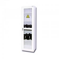 Armoire haute de sécurité à porte vitrée pour produits toxiques 150 L TRIONYX...