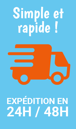 expedition en 24/48h